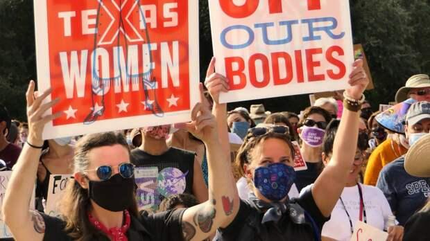 Минюст США сообщил о намерении администрации Байдена запретить закон об абортах в Техасе