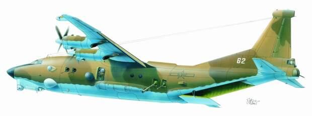 В России разрабатывают аналог американского «ганшипа» на базе Ан-12