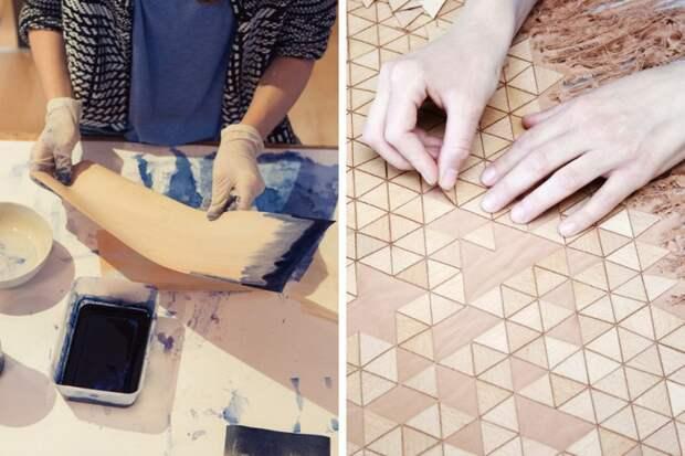 Ткань из дерева (DIY)