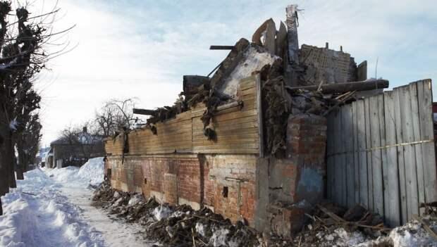 В Серпухове снесли дом купца Иванова, построенный 200 лет назад