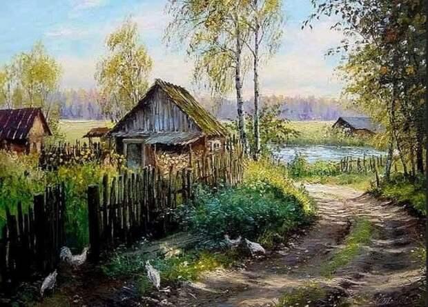 художник Олег Пятин картины – 03