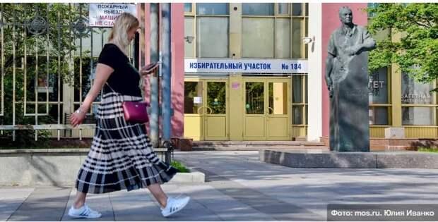 До окончания регистрации на онлайн-голосование 17-19 сентября осталась неделя. Фото: Ю. Иванко mos.ru
