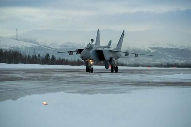 МиГ-31БМ получил новейшую навигационную систему для работы вАрктике