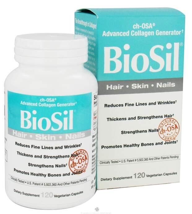 Активатор коллагена BioSil: отзывы. BioSil by Natural Factors