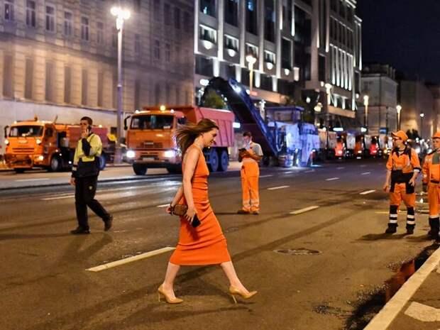 Бирюков: ремонтные работы на Тверской улице планируется завершить к 3:00 понедельника