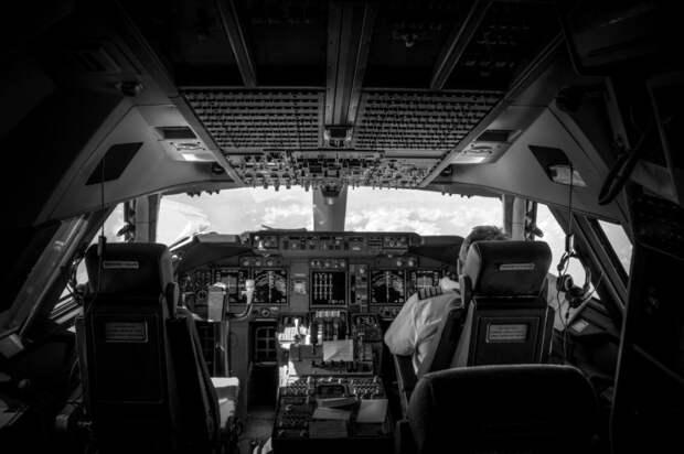 fromcockpit07 25 фотографий, сделанных пилотами из кабин самолетов