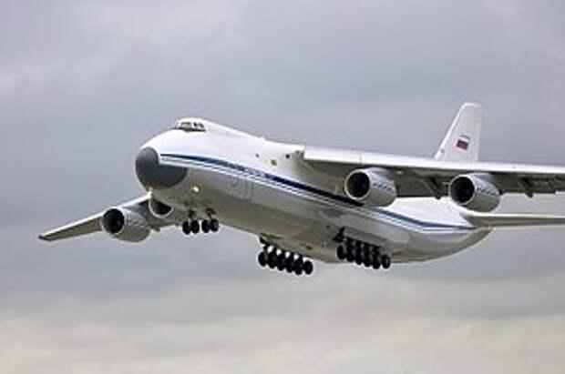 Минпромторг России прорабатывает возможности самостоятельного технического сопровождения самолетов Ан‑124 (с)