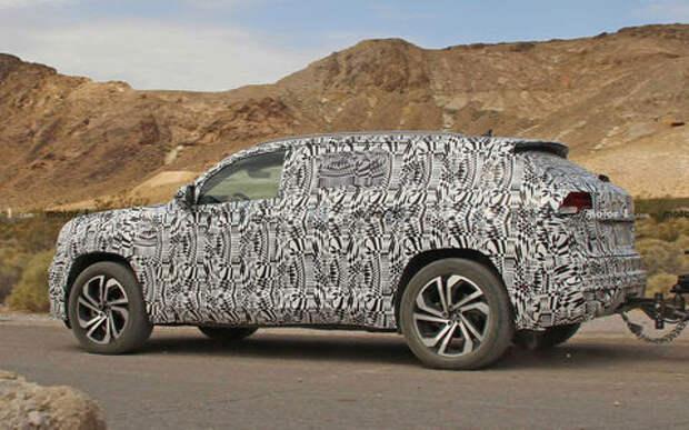 VW готовит кросс-купе на базе Teramont