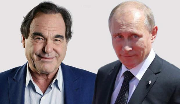 «Типичный американский подарок»: Стоун случайно подарил Путину пустую коробку из-под DVD