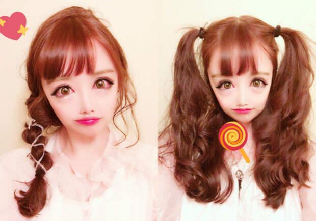Не фотошоп: девушка выглядит как анимационный персонаж анимационный персонаж, внешность, девушка