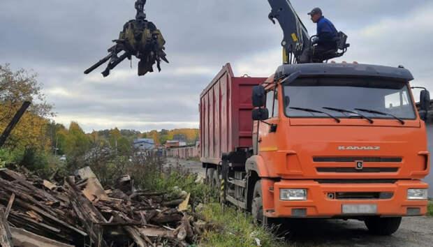 Несанкционированные свалки начали ликвидировать в Петрозаводске
