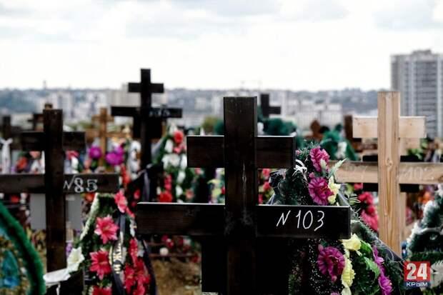 Мертвым становится тесно: в Симферополе мест на кладбище хватит только на полгода