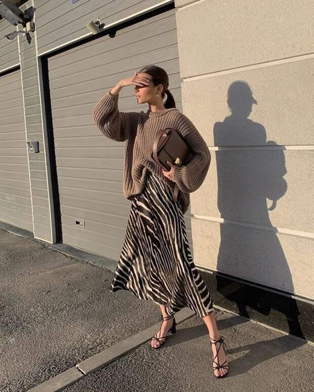 """Модный принт """"Зебра"""": 12 образов, которые покажут с чем его стильно сочетать"""
