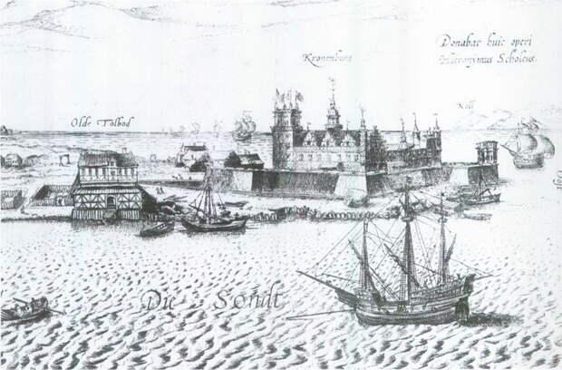 Крепость Кронеборг в датском Зунде, XVI век - Датский флот Нового времени: становление   Warspot.ru