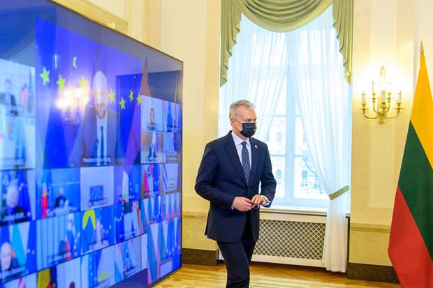 Литва призвала ЕС отказаться от связей с Москвой
