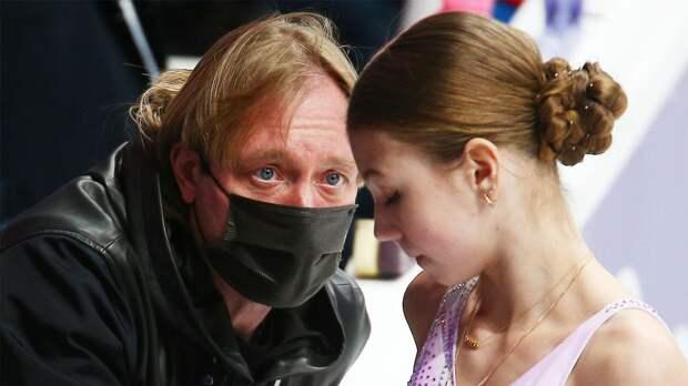 Плющенко: «Трусовой надо еще немного поработать, чтобы во всем меня превзойти. В беге она пока проигрывает»