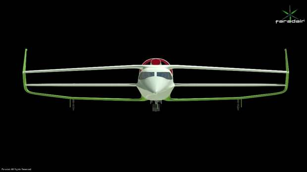 Концепт гибридного триплана BEHA. Он начнет перевозить пассажиров уже в 2025 году