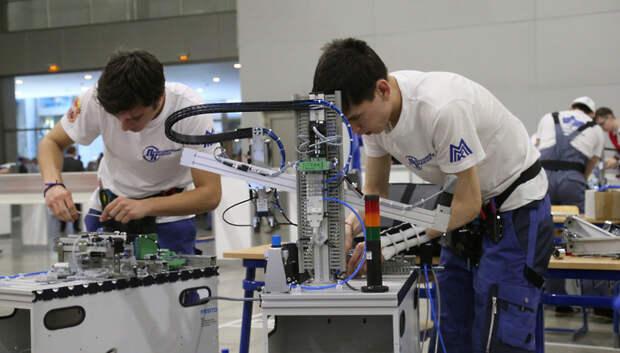Около 800 человек примут участие в региональном чемпионате WorldSkills в Подмосковье