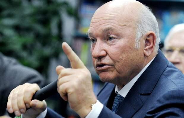 Лужков: Мы по пьяни отдали Крым и Севастополь
