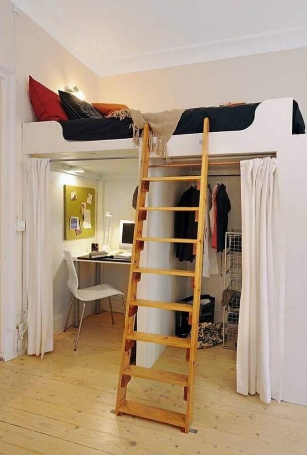 Крутые дизайнерские решения, которые приведут в восторг владельцев малогабаритного жилья