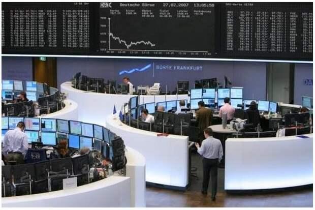 Биржи Европы растут на корпоративных новостях