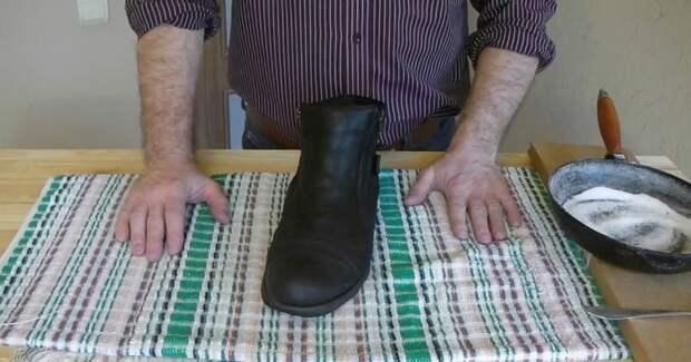 Актуально зимой: как быстро высушить обувь и удалить запахи