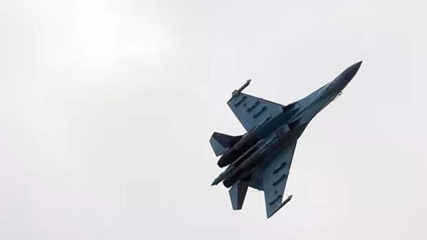 Су-27 перехватил самолёты США и Великобритании над Чёрным морем