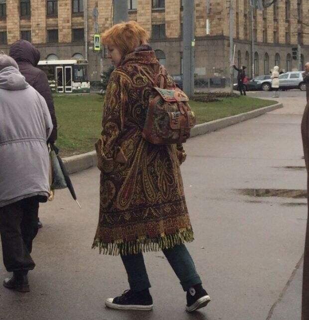 Интеллигентное безумие, или Странная мода петербургских улиц