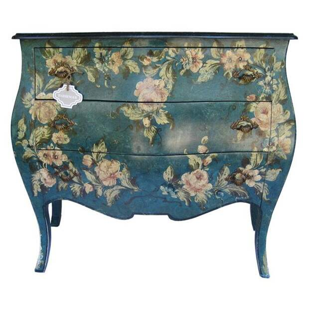 gorgeous painted chest