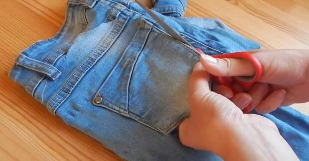 Юбка из старых джинсов: 10 удачных вариантов