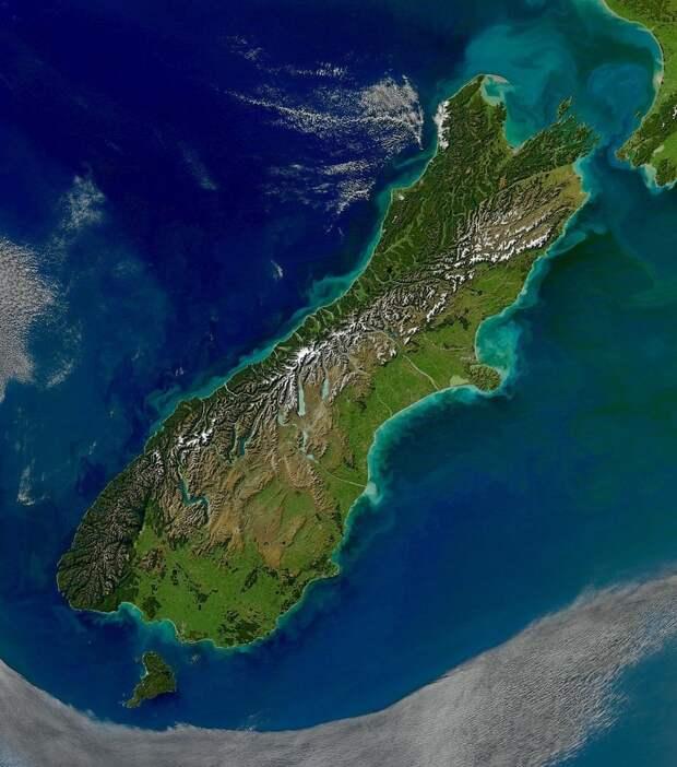 У берегов Новой Зеландии обнаружен огромный резервуар пресной воды