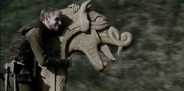 Древесина - популярный материал у викингов.