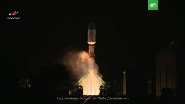«Роскосмос» успешно вывел на орбиту 34 спутника OneWeb