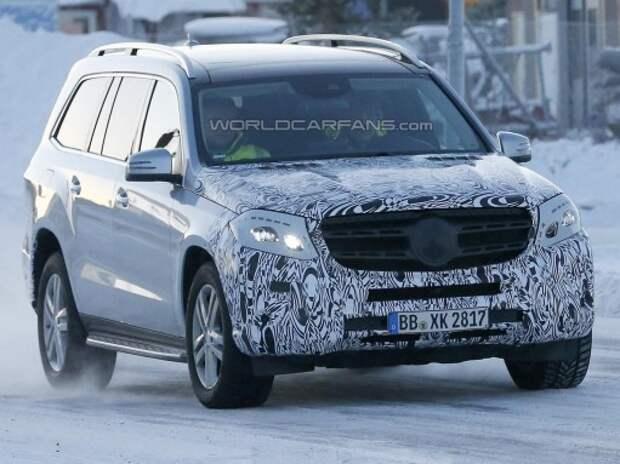 Впервые замечен Mercedes-Benz GLS – обновленный GL