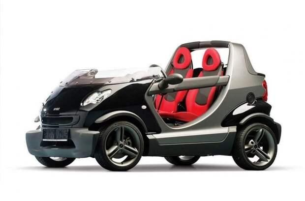 Smart Crossblade авто, автодизайн, автомобили, внедорожник, двери, дверь, дизайн, интересные автомобили