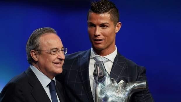 Перес заявил, что Роналду невернется в «Реал»