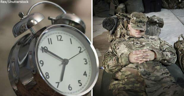Вот как уснуть всего за 2 минуты благодаря проверенному в боях методу армии США!