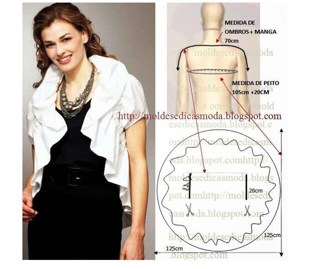 Блузки и выкройки к ним…, будьте модными!