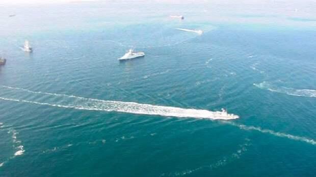 Все российские новости начинаются с задержания украинских кораблей