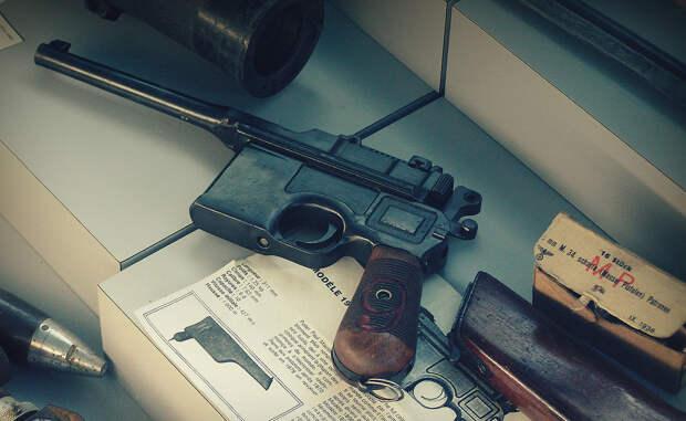 Маузер: немецкий пистолет элиты Красной Армии