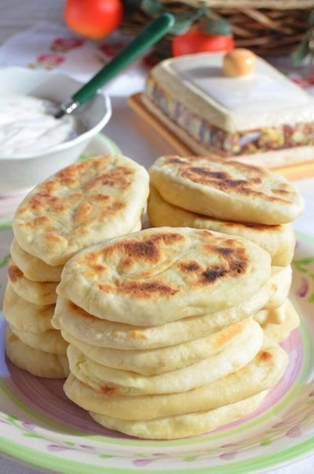 Фото к рецепту: Пирожки картофельные бабушкины