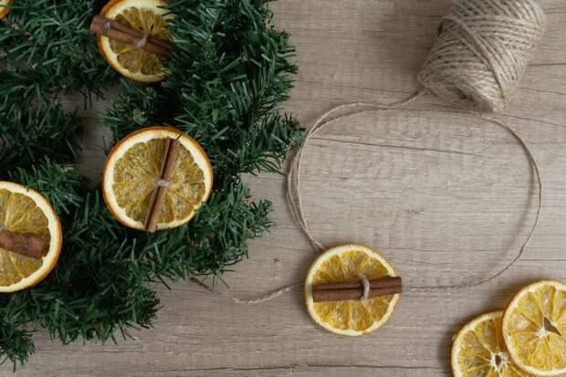 Елочные игрушки из сухофруктов. Креативные новогодние украшения