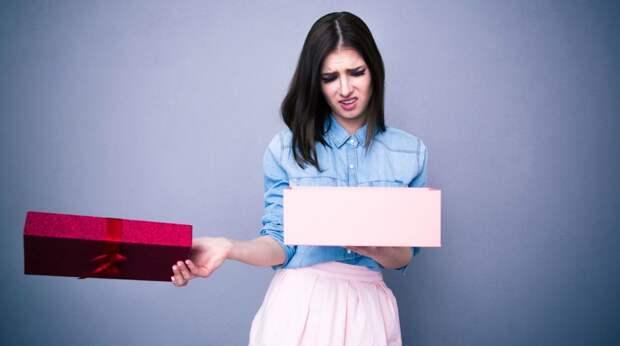 10 возможных причин, по которым вы не получаете дорогих подарков