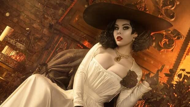 Леди Димитреску, принцесса даэдра из Skyrim и Ари из LoL — косплей дня (18+)