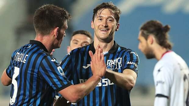 Миранчук забил шикарный гол в Серии А. Принял мяч и положил от штанги – красота!