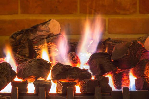 Газовый камин для дачи и квартиры