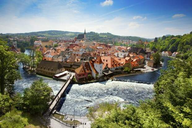 Прага живописные места Европы