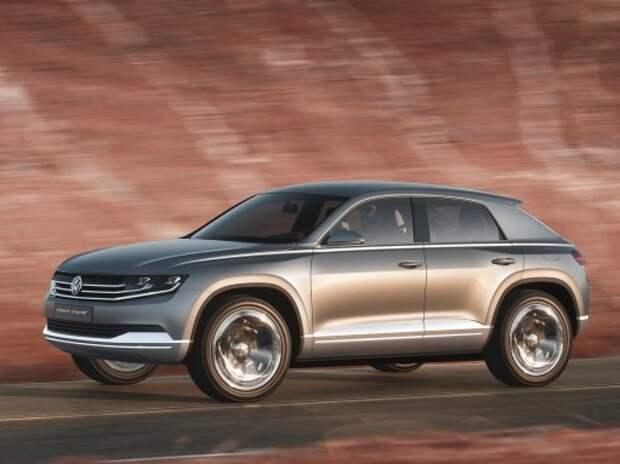 VW запланировал выход 7-местного Tiguan на 2017 год