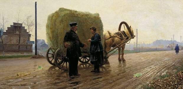 художник Николай Касаткин картины – 12