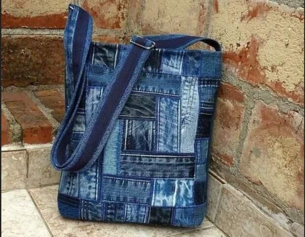 Сумки и рюкзаки из джинсов (трафик)